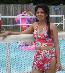 desi bikini woman